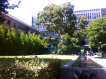 A picture within the UniMelb campus